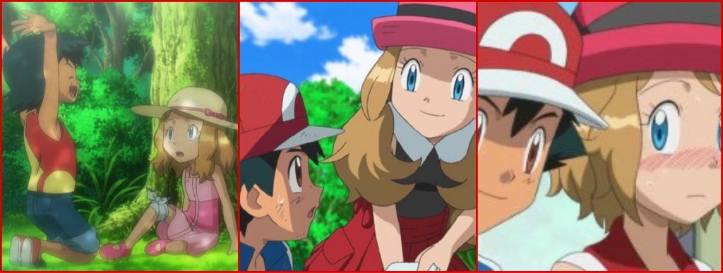 Ash e Serena