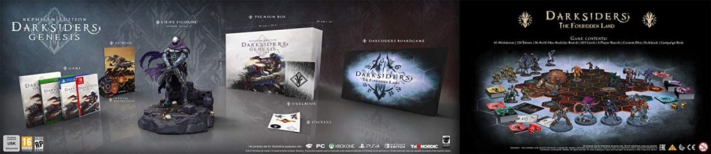 La Nephilim Collector's Edition di Darksider Genesis