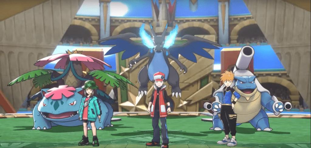 Verde, Rosso e Blu protagonisti su Pokémon Masters.