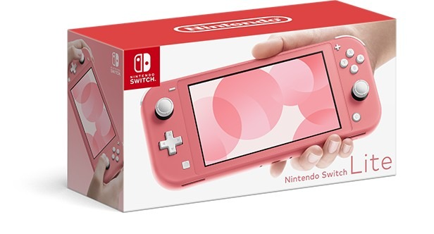 Boxart Nintendo Switch Lite Corallo
