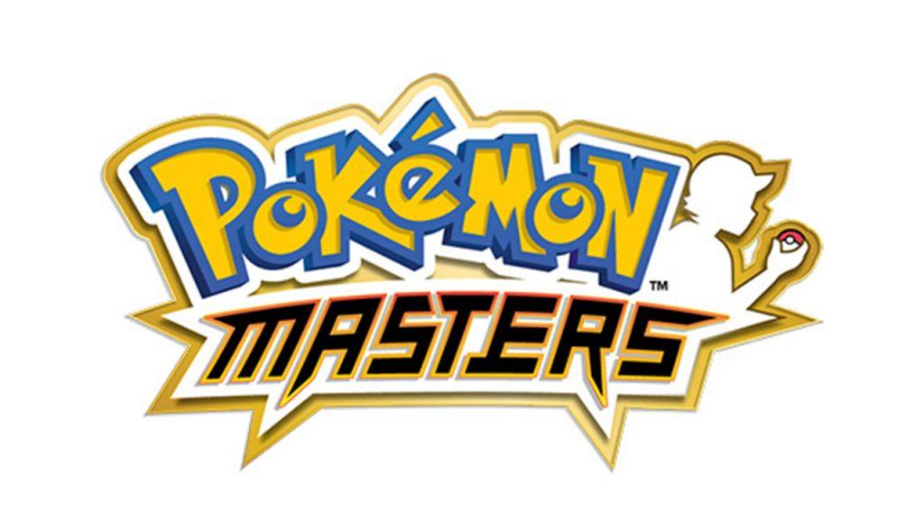 Pokémon Masters logo.