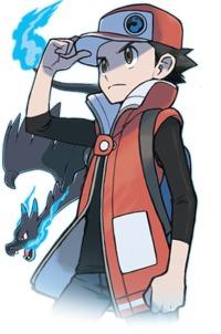 Rosso in Pokémon Masters