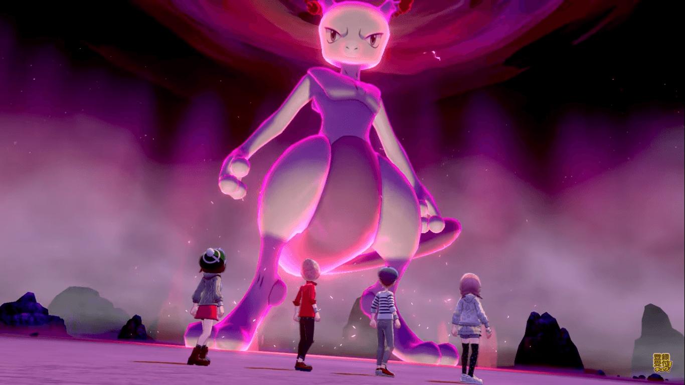 Mewtwo è disponibile nei raid di Pokémon Spada e Scudo