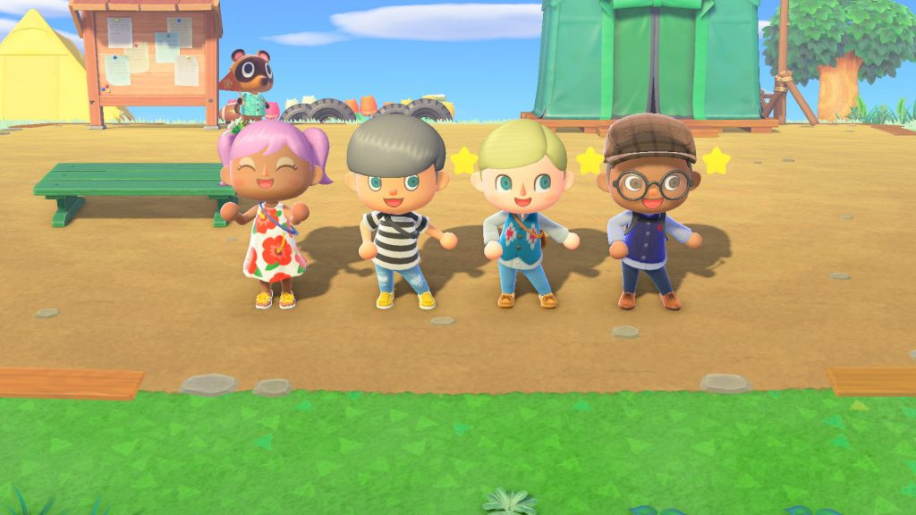 Animal Crossing multiplayer