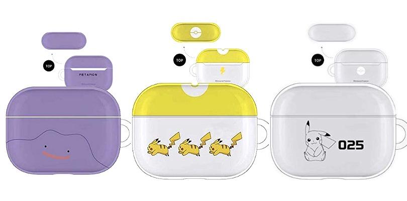 Nuovi accessori AirPods in arrivo nei Pokémon Center