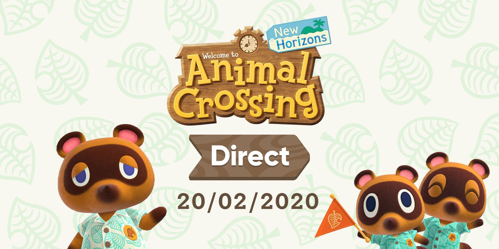 Annunciato un Animal Crossing Direct di 25 minuti