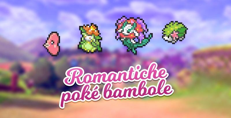 L'amore e i fiori sono il tema delle bambole del PokéPoints Store di febbraio