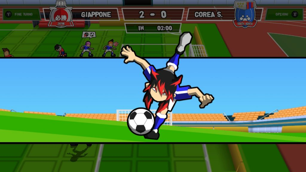 Tiro Fatale in Ganbare! Super Strikers