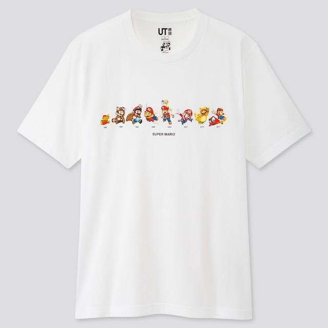 Uniqlo lancerà una nuova linea di magliette dedicata a Super Mario