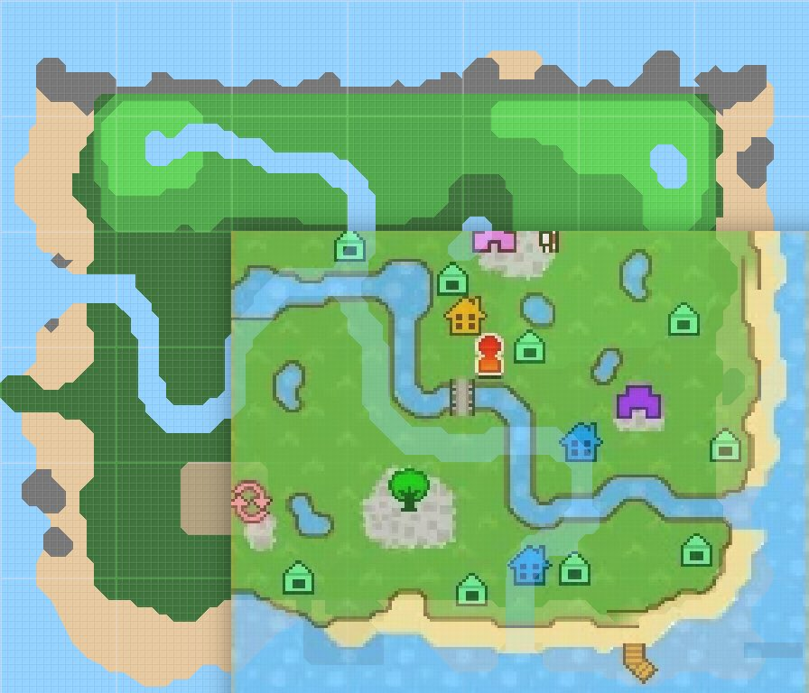 L'isola di Animal Crossing: New Horizons è più grande di quanto immaginiamo  ~ Pokémon Millennium