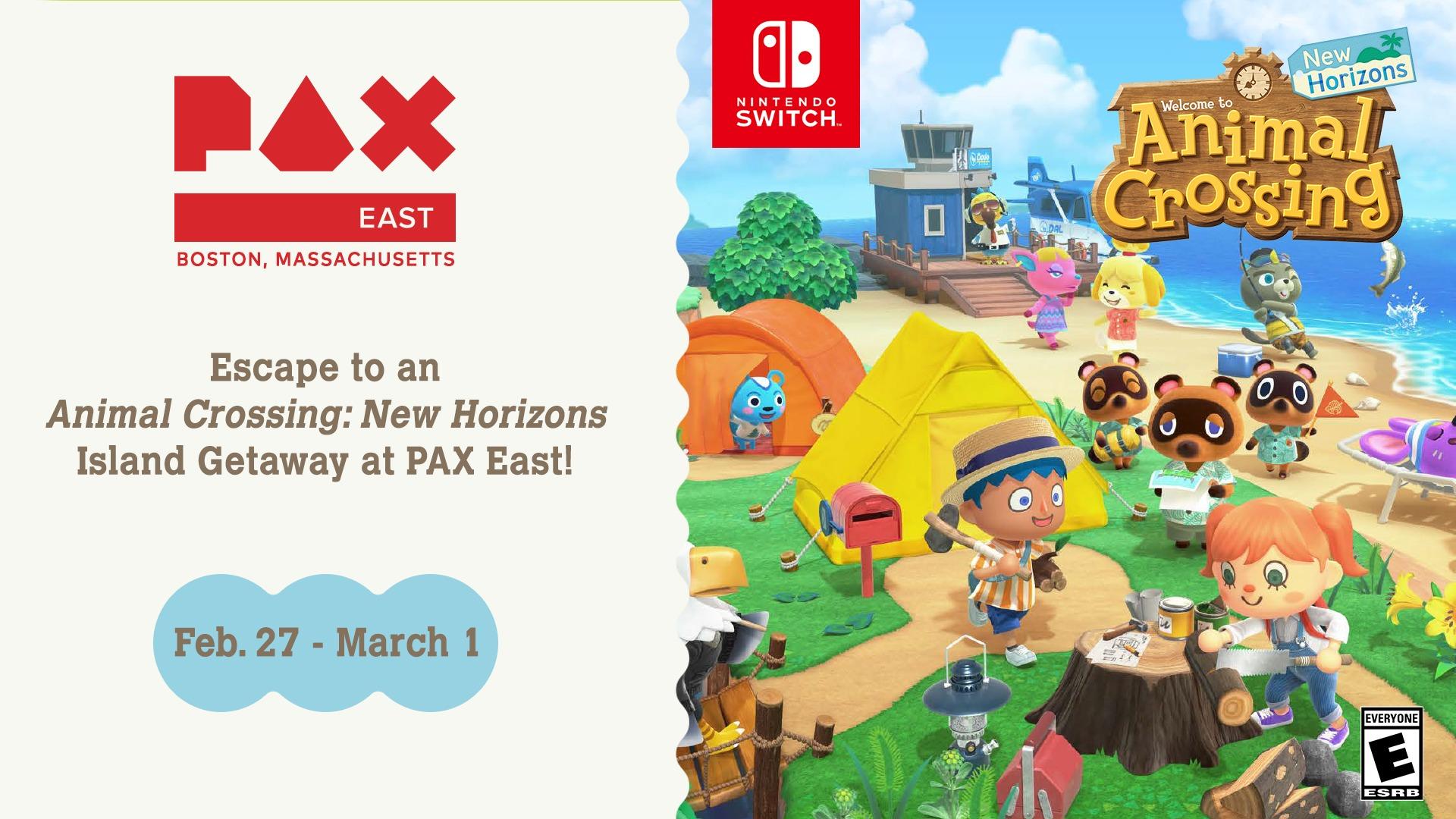 Animal Crossing: New Horizons sarà al PAX East con una demo giocabile