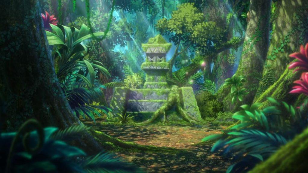 Altare nella foresta