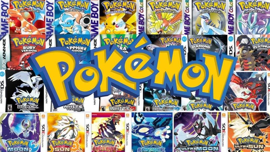Tutti i giochi Pokémon prima di Pokémon Spada e Scudo