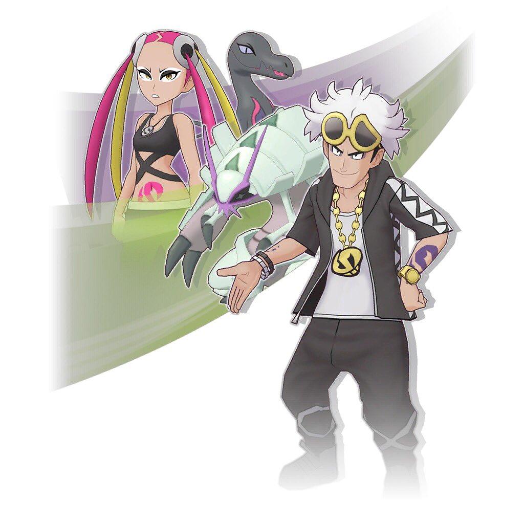Guzman e Plumeria sono in arrivo su  Pokémon Masters
