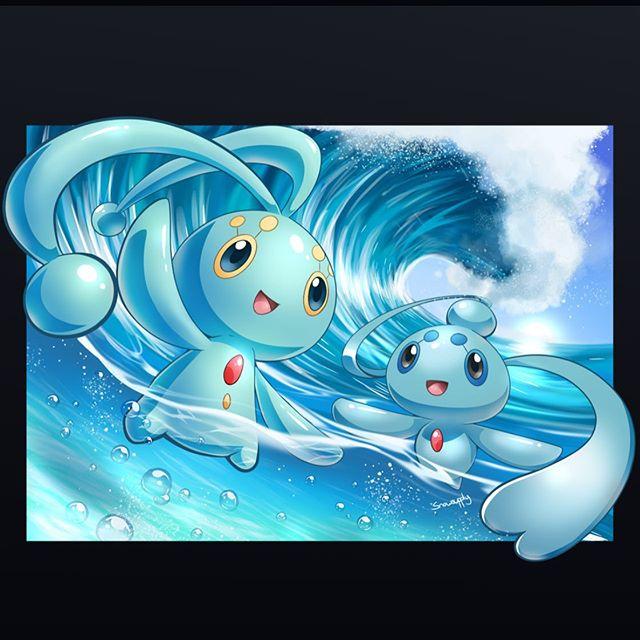 Manaphy e Phione, i guardiani del mare