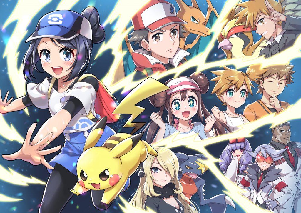 Terzo classificato del  Pokémon Masters Fan Art Festival