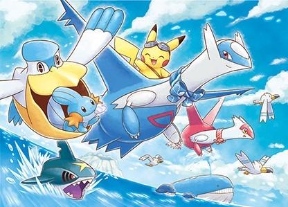 I Pokémon popolano il cielo, il mare e la terra adattandosi ai diversi ambienti.