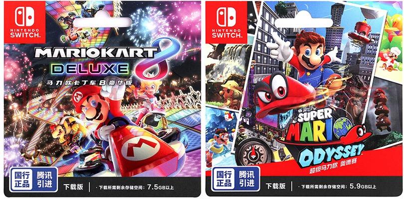 Super Mario Odyssey e Mario Kart 8 Deluxe arrivano in Cina