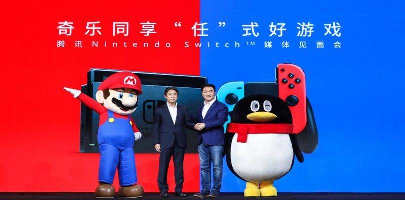 Tencent estende la garanzia di Nintendo Switch in Cina come risposta al Coronavirus
