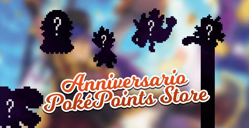 Festeggia insieme al PokéPoints Store, il suo terzo anniversario!