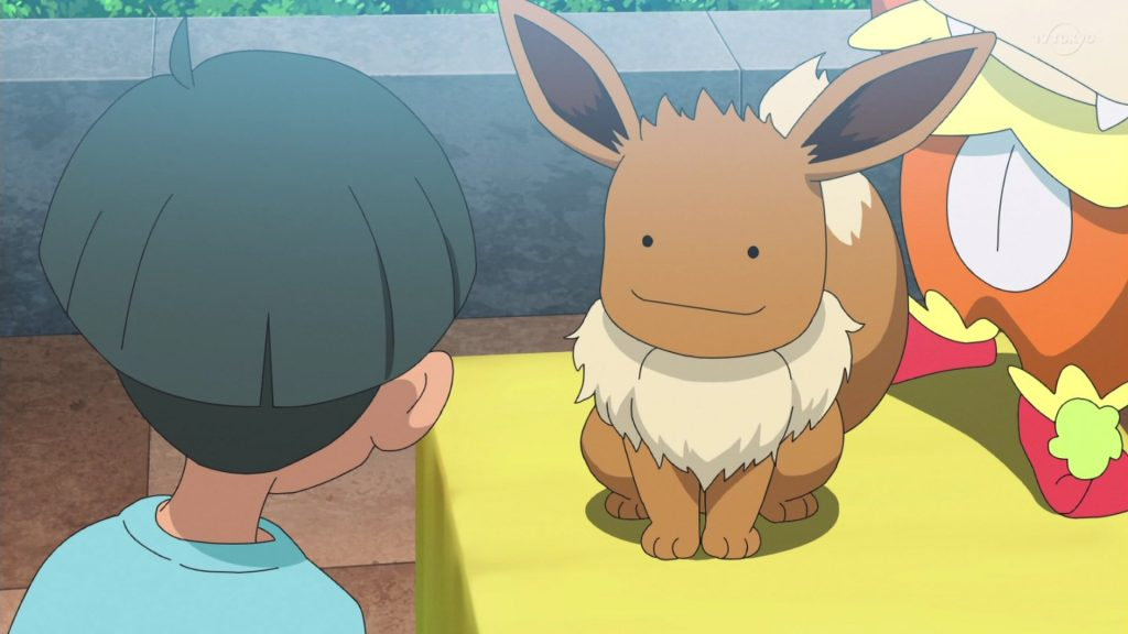 Ditto Eevee anime Pokémon