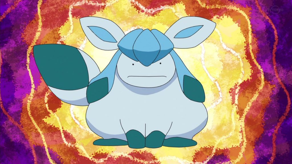 Ditto Glaceon