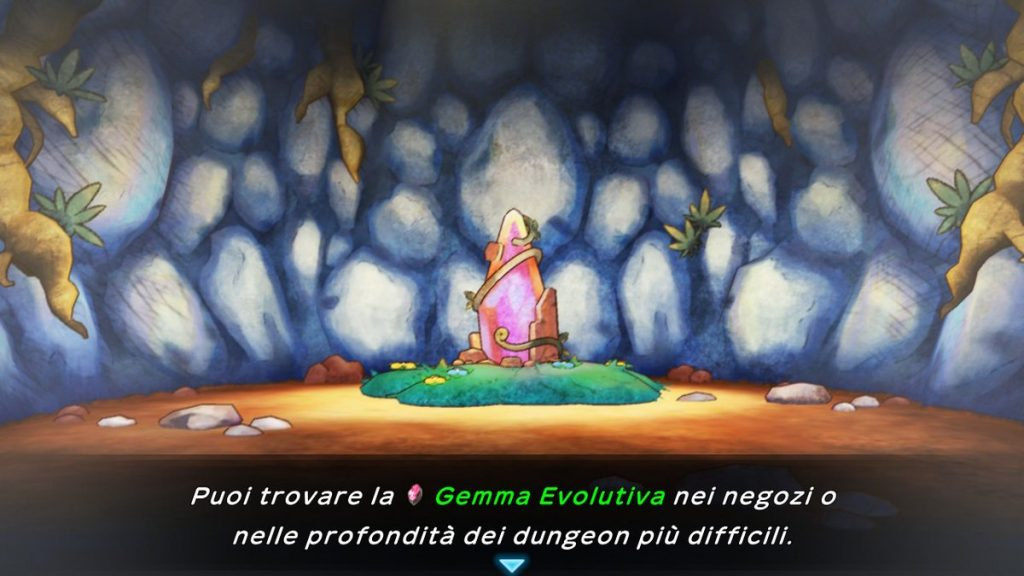 Gemma evolutiva Pokémon Mystery Dungeon DX