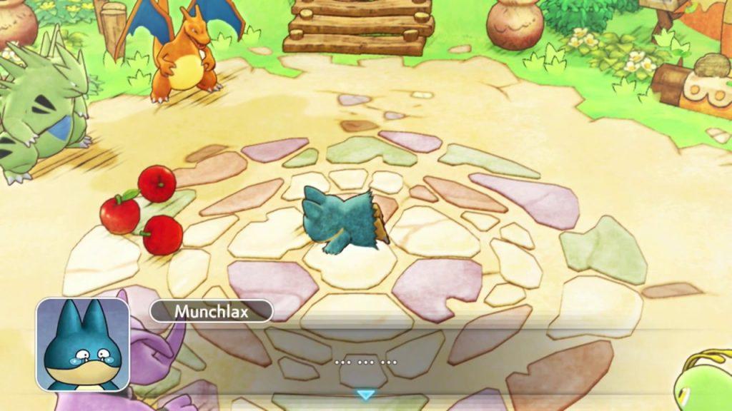 Munchlax Pokémon Mystery Dungeon DX