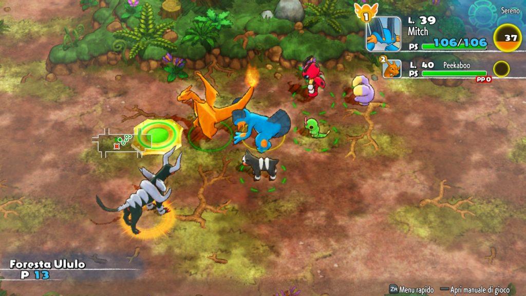 Megaevoluzione Pokémon Mystery Dungeon DX