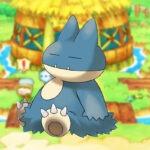 Munchlax Pokémon Mystery Dungeon
