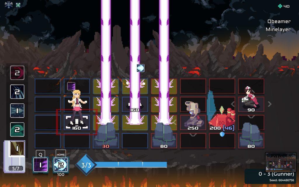 One Step From Eden scena di gioco