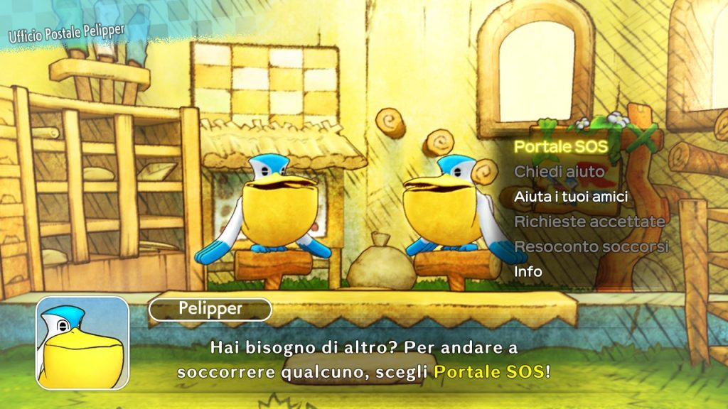Portale SOS Pokémon Mystery Dungeon: Squadra di Soccorso DX