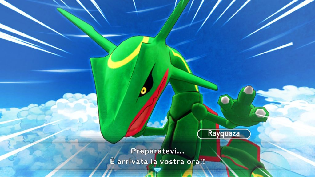 Rayquaza Pokémon Mystery Dungeon DX
