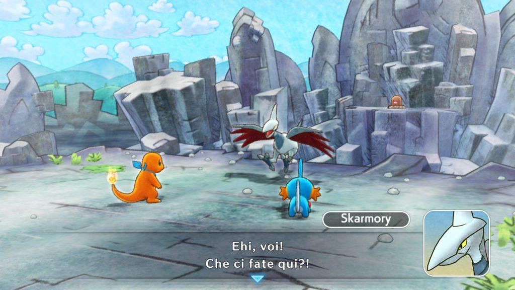 Skarmory Pokémon Mystery Dungeon DX