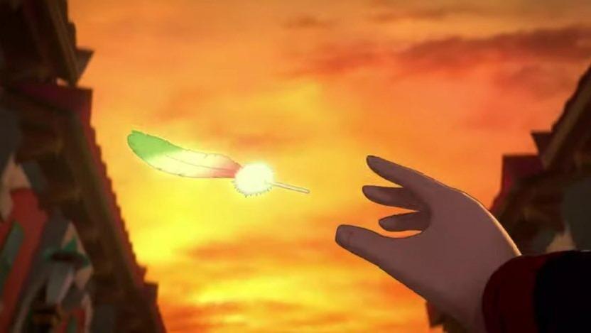 Ho-Oh si prepara a risplendere nei cieli di Pasio