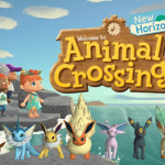 Evoluzioni di Eevee su Animal Crossing: New Horizons