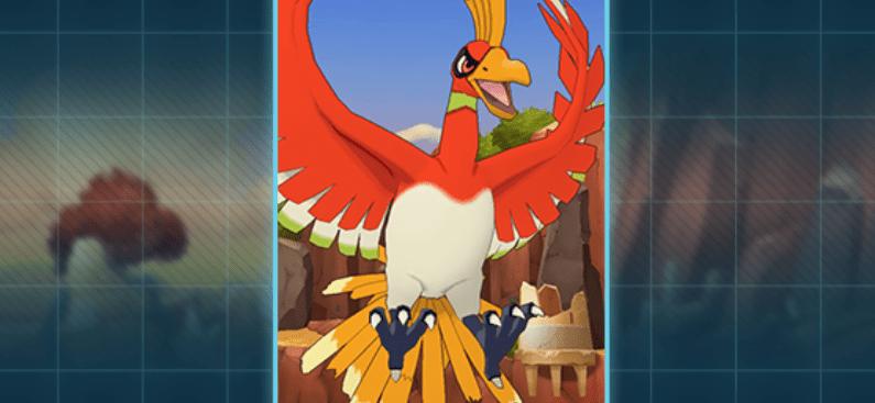 Ho-Oh è pronto a rischiarare i cieli di  Pokémon Masters