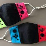 Mascherine a tema Nintendo Switch create da un fan
