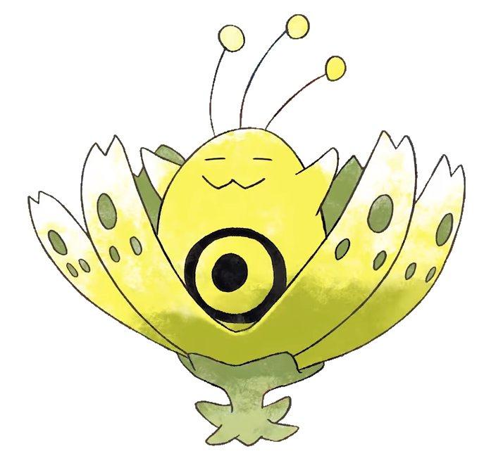 Blossomole, antenato di Bayleef