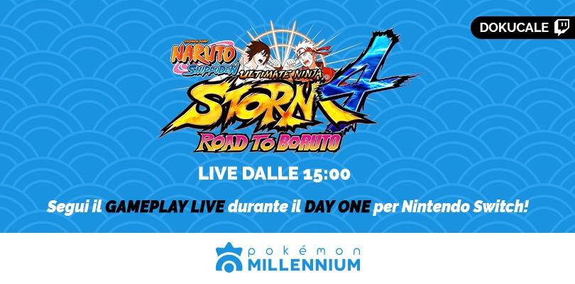 Naruto Shippuden Ultimate Ninja Storm oggi in live alle 15 su Twitch!