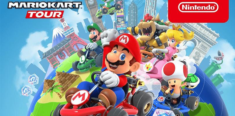 È ora disponibile il Trick Tour su Mario Kart Tour