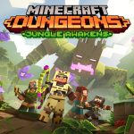 Primo DLC di Minecraft Dungeons intitolato Jungle Awakens
