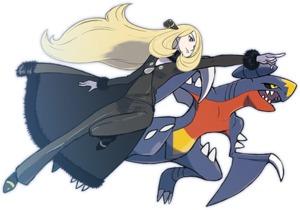 Camilla e Garchomp