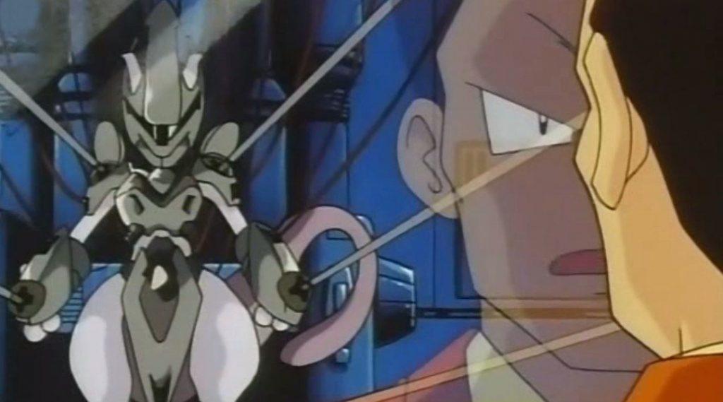 Giovanni e Mewtwo