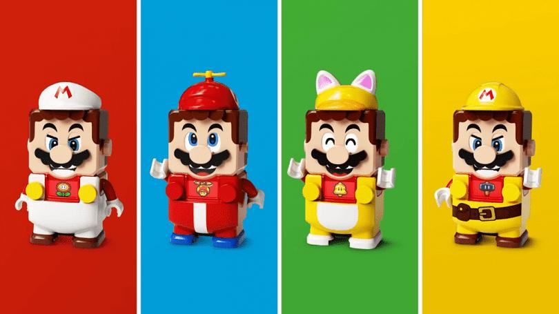 LEGO Super Mario sempre più ricco: presentati i nuovi Power-Up Packs