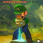 Luigi Zelda mod