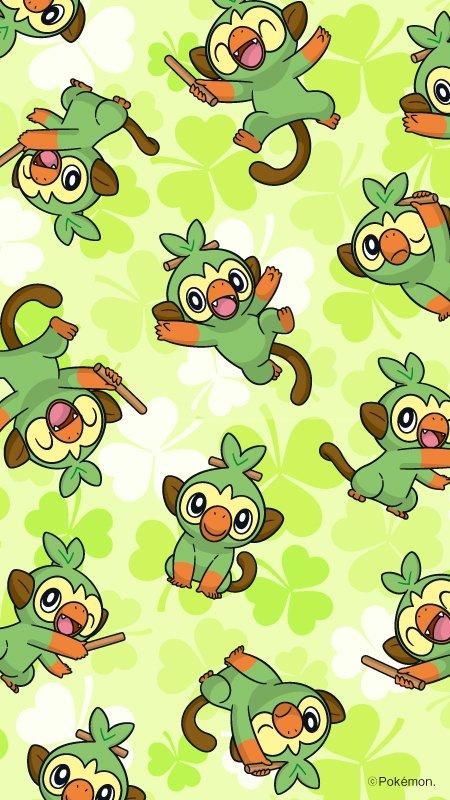 Sfondo Pokémon Galar Grookey