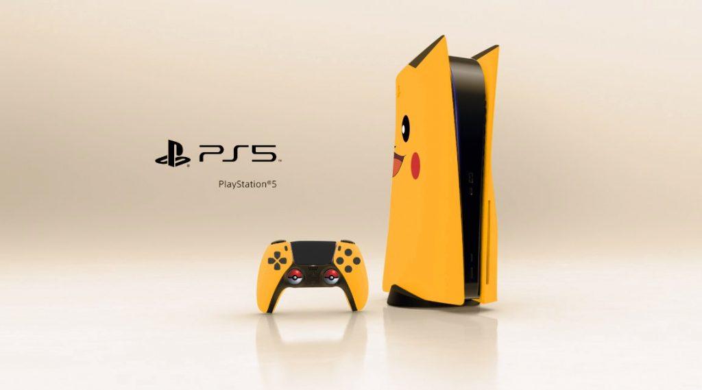 Playstation 5 Pikachu