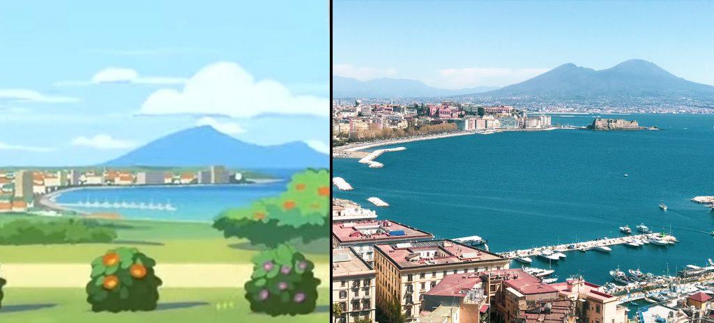 Pokémon Café Mix è ambientato in Italia a Napoli? ~ Pokémon Millennium