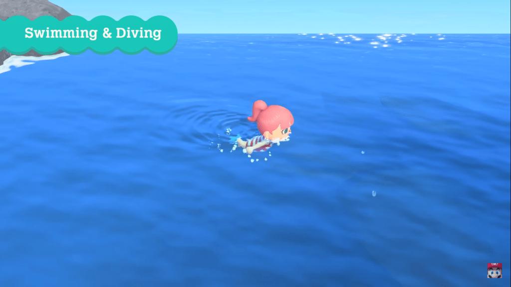 animal crossing aggiornamento nuoto